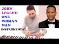 Download John Legend - One Woman Man (Instrumental Piano Cover)