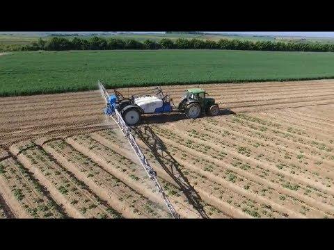 Traitements pommes de terre 2017 potatoes spraying john - Traitement pomme de terre ...