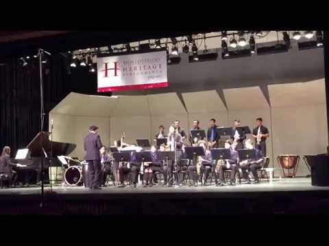 St Genevieve High School Jazz Band 2015