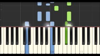 The Ash Grove - Welsh Air [Piano Tutorial] (Synthesia)
