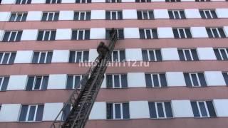 Учения пожарных на здании гостиницы Двина в Архангельске(Материал с сайта http://arh112.ru., 2015-03-25T12:15:58.000Z)