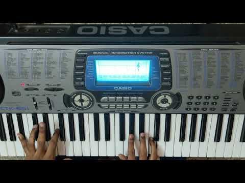 Garbadhi | KGF - Chapter 1 | Keyboard Cover | Yash | Ananya Bhat | Keyboard notes/chords Garbadhi