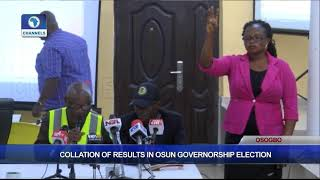 Collation Of Results In Osun Governorship Election Pt.3  Osun Decides 