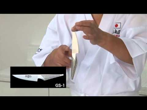 Global Knives as explained by Mr Global - Mino Tsuchida