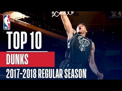 Top 10 Dunks of the 2018 NBA Regular Season
