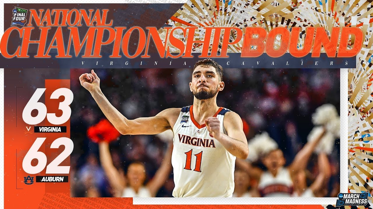 Virginia Vs Auburn Final Four Extended Game Highlights