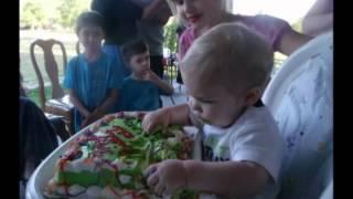 Matthew's First Birthday