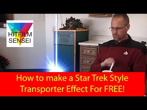 How to Make a Super Simple Star Trek Style Transporter Effect!