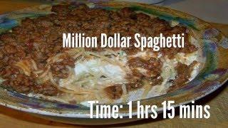 Million Dollar Spaghetti Recipe