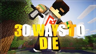 ÖLMENİN 30 YOLU - Minecraft: 30 Ways to Die