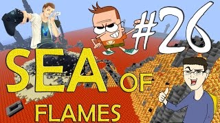 MINECRAFT : SEA OF FLAMES - UN NUOVO DUNGEON w/SurrealPower & Vegas #26