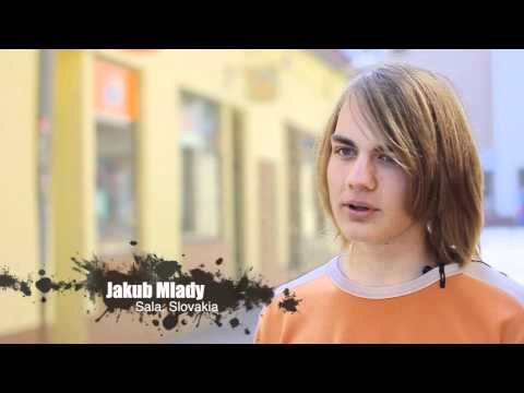 Human Rights Generation campaign in Slovakia.