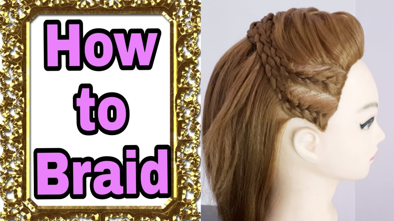 braid hair style stylish braided hairstyle with fishtail and braids 1846 | maxresdefault