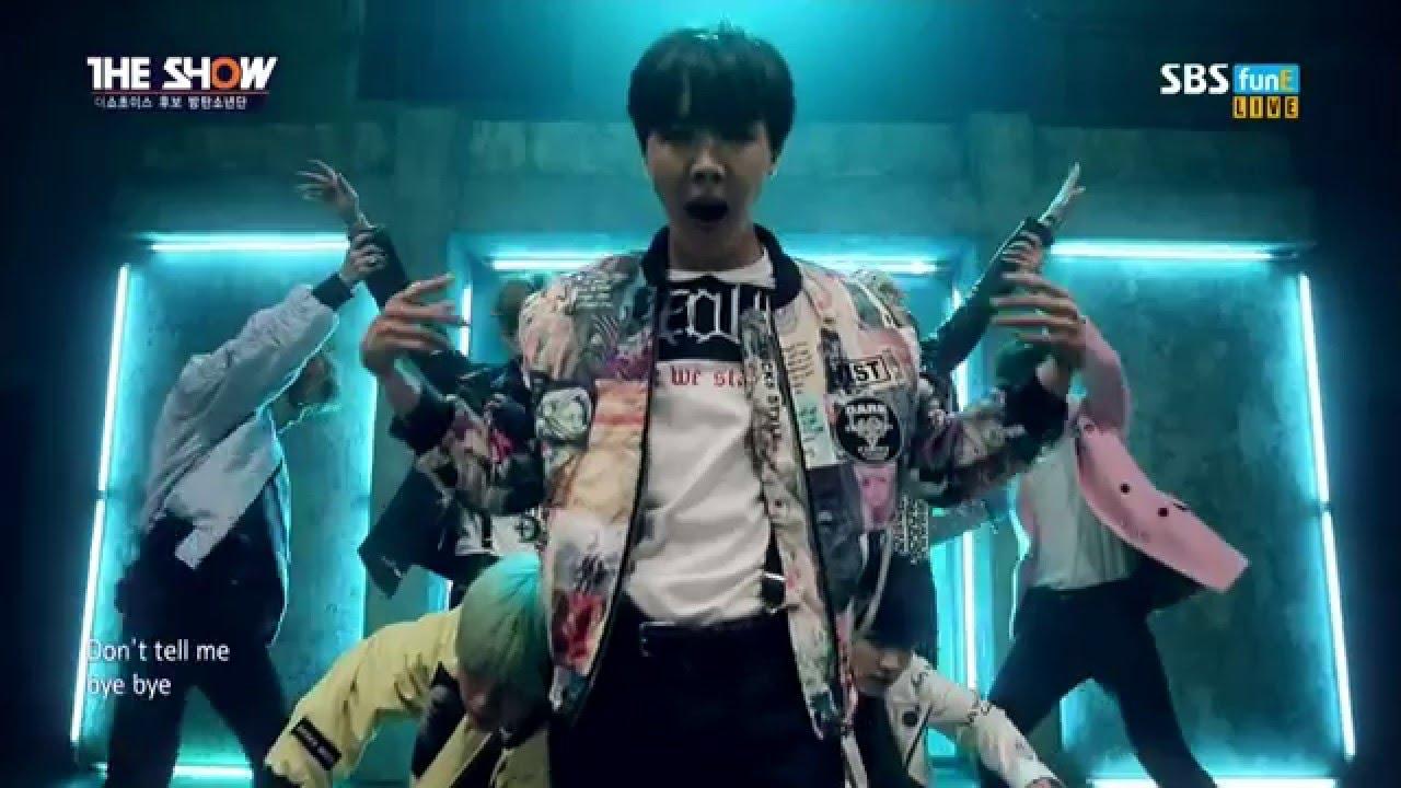BTS RUN DANCE MV SBS 'The Show'