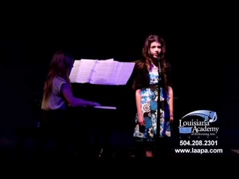 """Katherine Corcoran - """"I'm Not That Girl"""" - Voice Lessons Student at LAAPA in New Orleans, LA"""