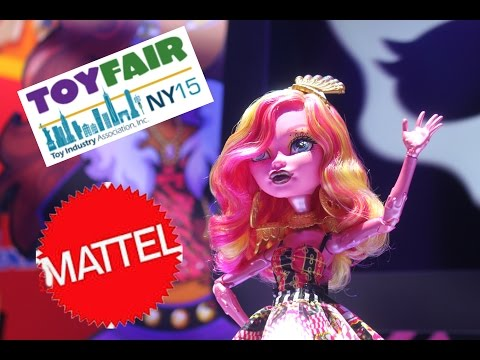 Mattel Toy Reveals Monster High | Ever After High | Barbie Toy Fair 2015