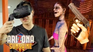 VR ZOMBIE Co-op Shooter - ARIZONA SUNSHINE