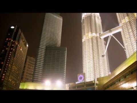 Petronas Towers, Video in 1080p HD, Kuala Lumpur, Malaysia