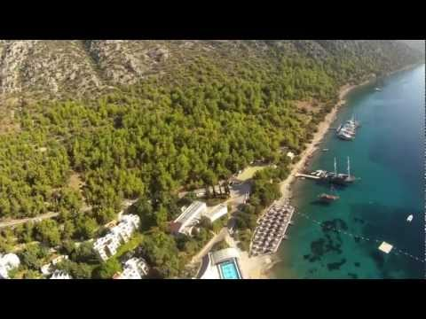 Three Amazing FPV Flights Over Sea Garden, Bodrum, Turkey