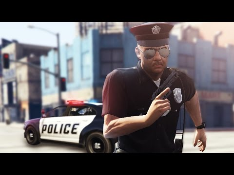 GTA 5 COP MOD - HES RUNNING AWAY! CHASE THE CRIMINAL! (GTA 5 Mods)