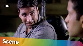 Akshay Kumar Tushar Kapoor Conversation Scene - Khakee  - Bollywood Hit Movie