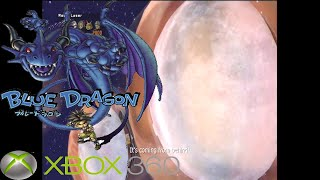 Blue Dragon Moon Laser Mini Game