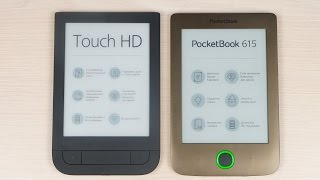 Обзор электронных книг PocketBook 631 и 615