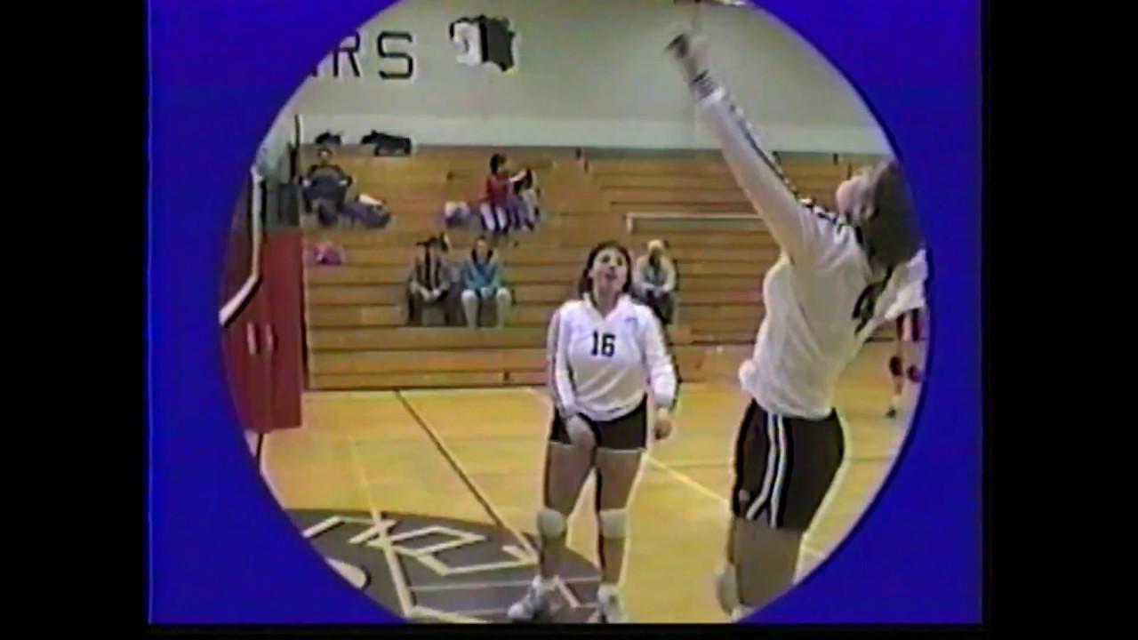 NCCS - Saranac Volleyball  2-13-88