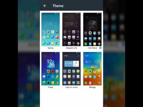 How to change themes in Lenovo k8 note mobile | Rahul B