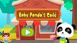 Baby Panda Summer Cafe - BabyBus Kids Games - Baby Games Videos