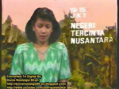 Tinjauan Acara TVRI 13 Juni 1989 + TVRI Penutup (Syukur)