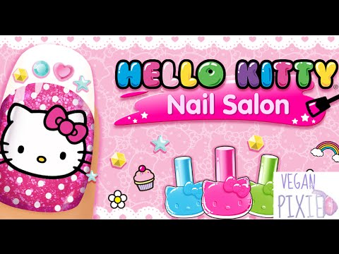 Hello Kitty Nail Salon SamSung/Apple Girls Video Game First Look Play Through