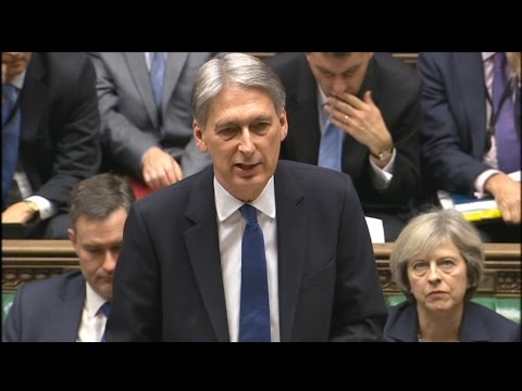 Autumn Statement 2016: 23 November