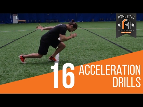 Speed Training Drills: 16 Acceleration Starts For Athletes