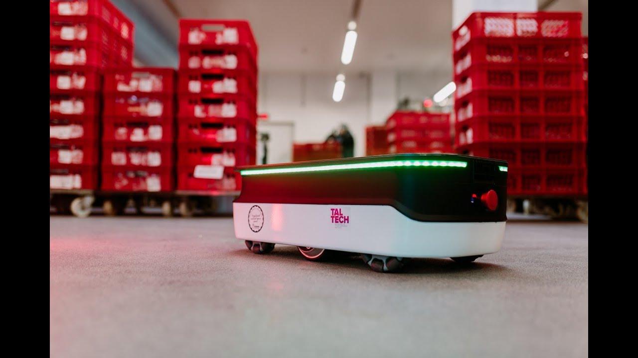 TalTechi uuenenud logistikarobotit saab juhtida digitaalse kaksikuga