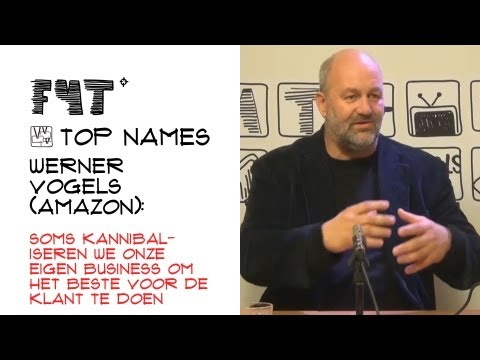 Werner Vogels (Amazon): soms kannibaliseren we onze eigen business voor de klanten