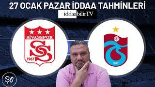 iddaabilirTV/27 ocak iddaa tahminleri/spor tahmin/free picks Video