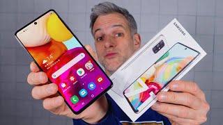 Samsung Galaxy A71 (test) - Le Même En Mieux !