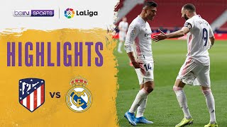 Atletico Madrid 1-1 Real Madrid   LaLiga 20/21 Match Highlights