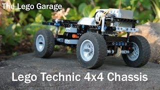 Lego Technic 4x4 Chassis