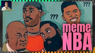 EXTRA NBA: KHI BÓNG RỔ TRỞ THÀNH KHO TÀNG MEME THẾ GIỚI (MICHAEL JORDAN, LEBRON JAMES, YAO MING)