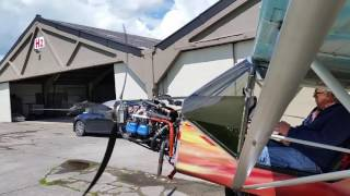 Essais moteur avec injection LAD AERO