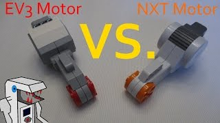 EV3 Large and NXT Motors - The Differences Explained