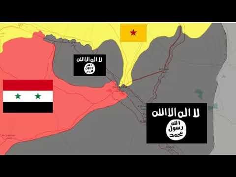 Bloqueo a Isis   Reporte guerra siria 17//09/2017