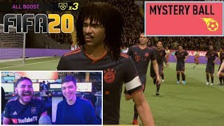 CRAZY FIFA 20 MYSTERY BALL GAME VS CASTRO WITH GOD SQUADS ON ULTIMATE TEAM!!!