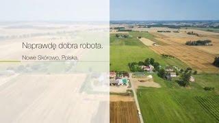 Naprawdę dobra robota. Ciągniki CLAAS. Nowe Skórowo, Polska. / 2015 / pl