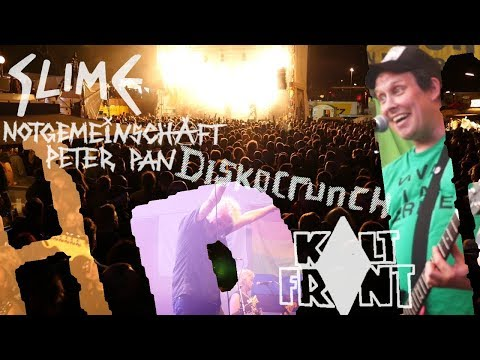 Hafengeburtstag 2018 Slime( +Interview) Notgemeinschaft Peter Pan, Diskocrunch, Kalt Front