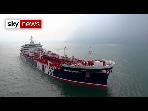 British-operated oil tanker