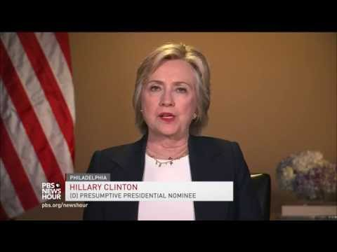 Hillary Clinton calls for police reform, national use of force standards