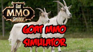 Goat MMO Simulator, un MMO de Cabras!